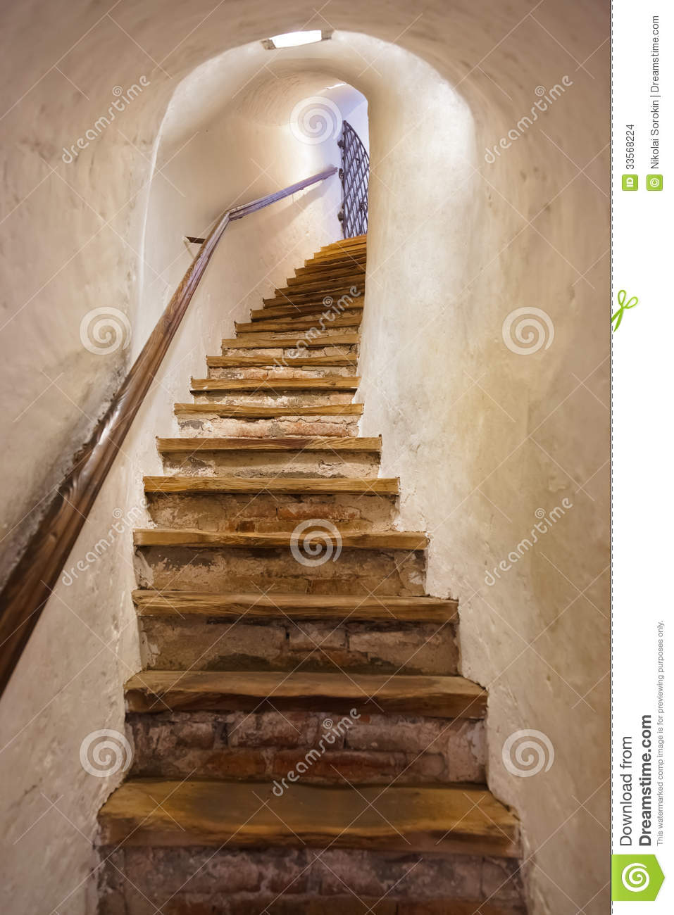 Stairs In Castle Kufstein Austria Stock Images Image