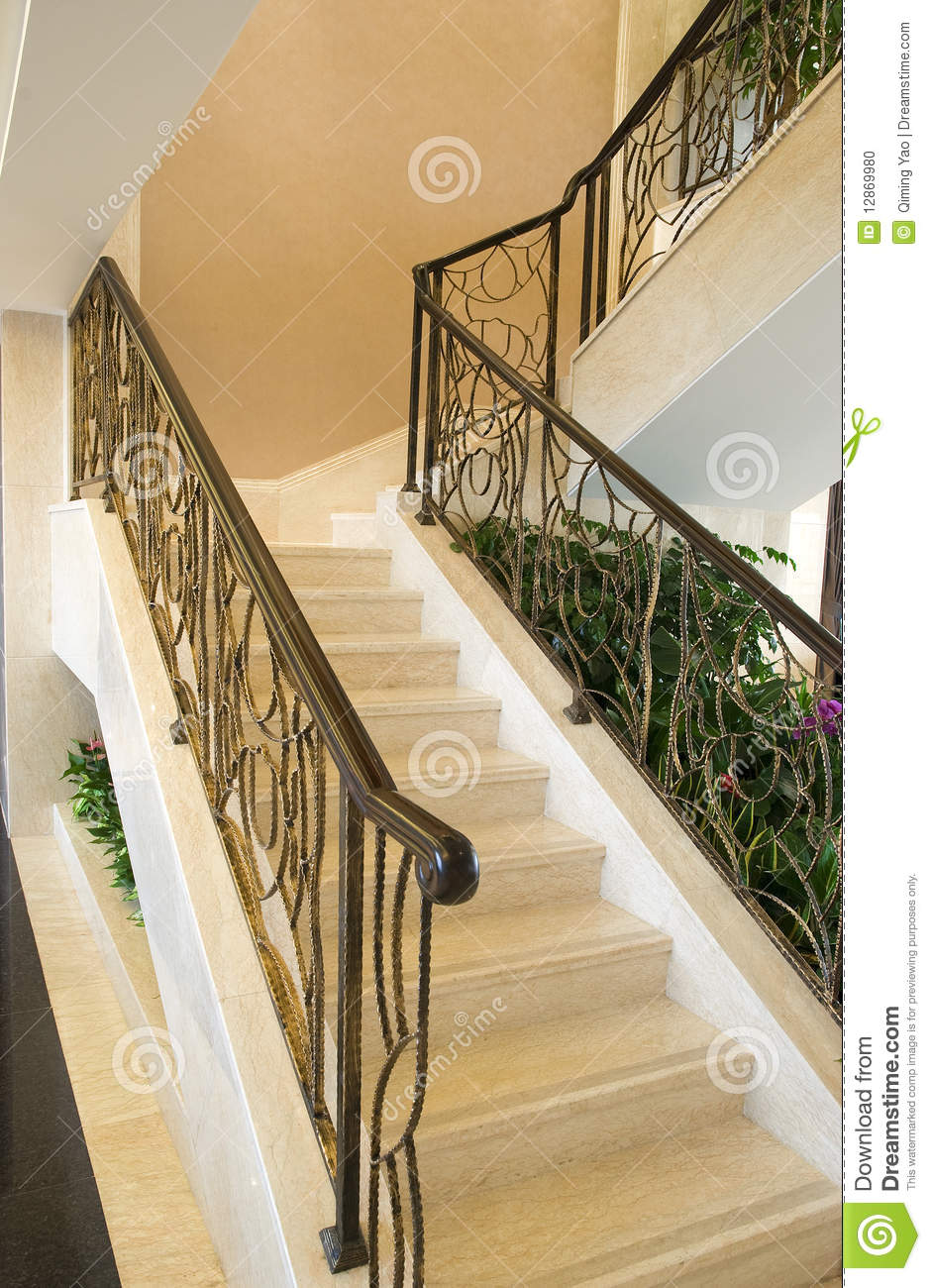 Stairs in the modern house stock photo image 12869980 - Stairs in home ...