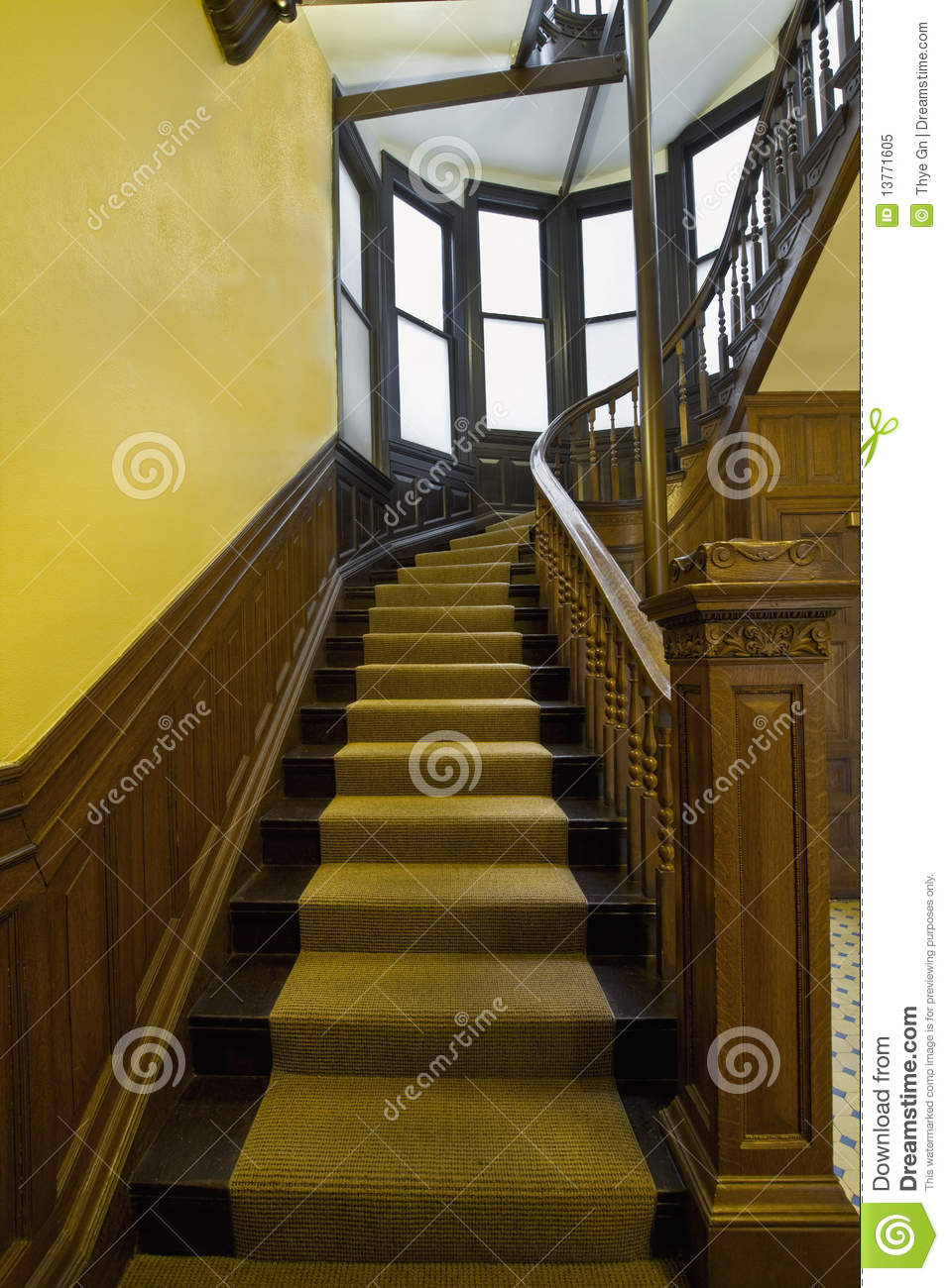 how to clean old in stairs