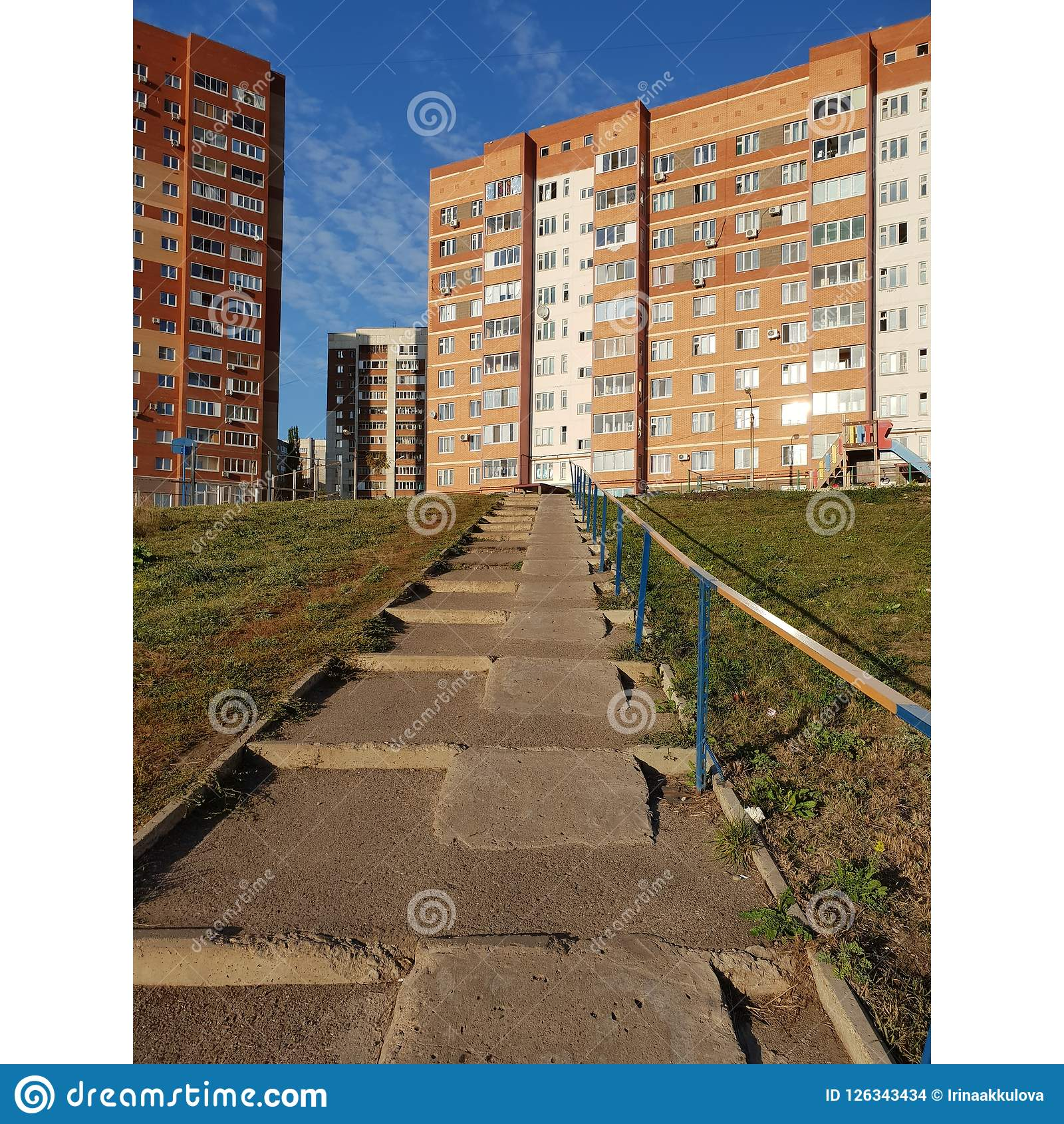 Download Stairs With Ramps Stock Photo. Image Of Disabilities   126343434