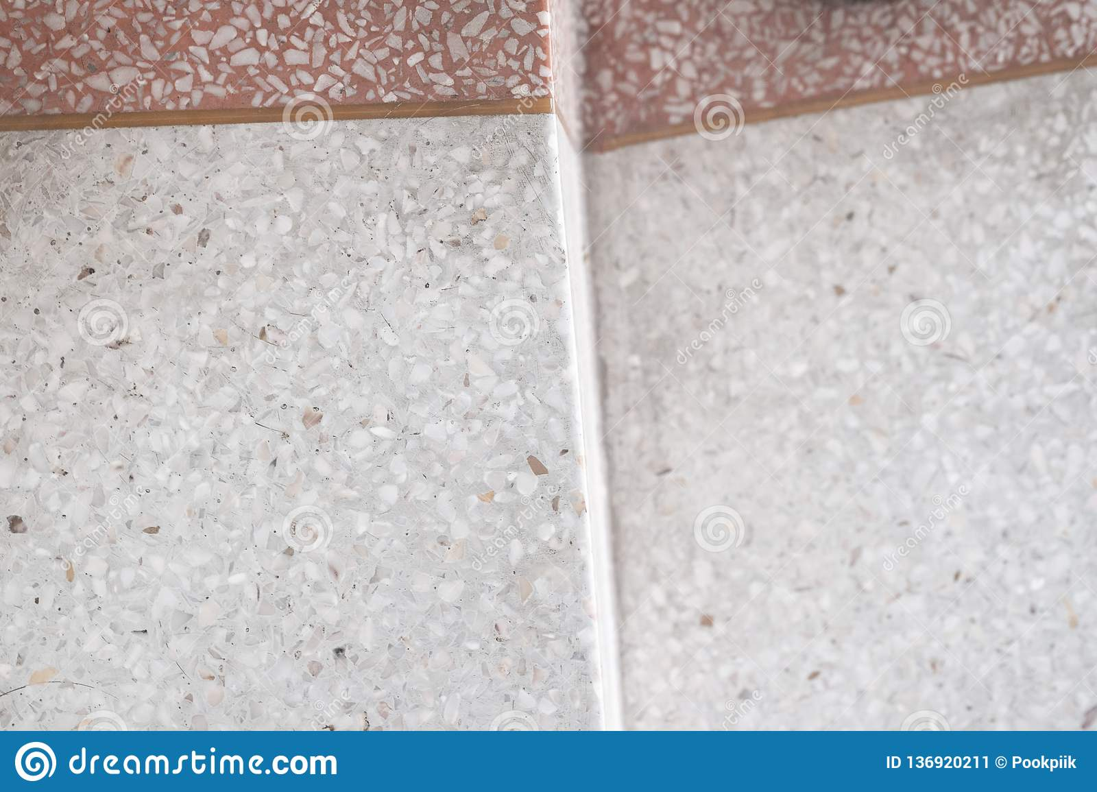 Stairs Terrazzo Polished Stone Walkway And Floor Pattern And Color Surface Marble And Granite Stone Material For Decoration Stock Image Image Of Decorate Granite 136920211