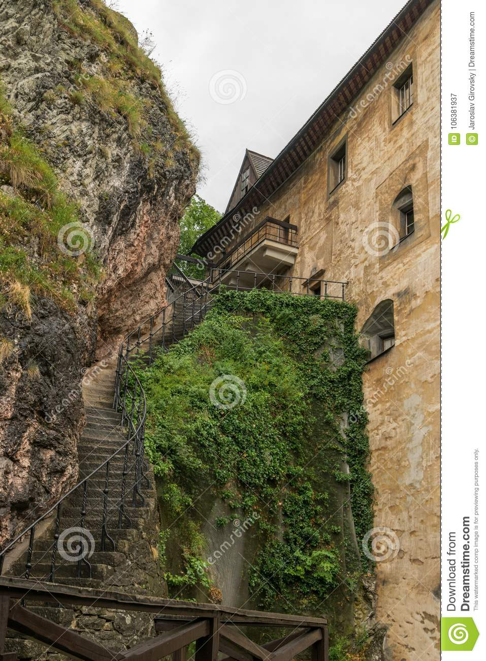 download stairs to higher parts of castle stock image image of courtyard tourism