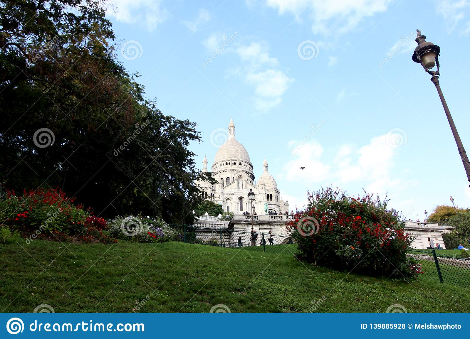 Step to Sacre Coeur Basilica, Paris, France