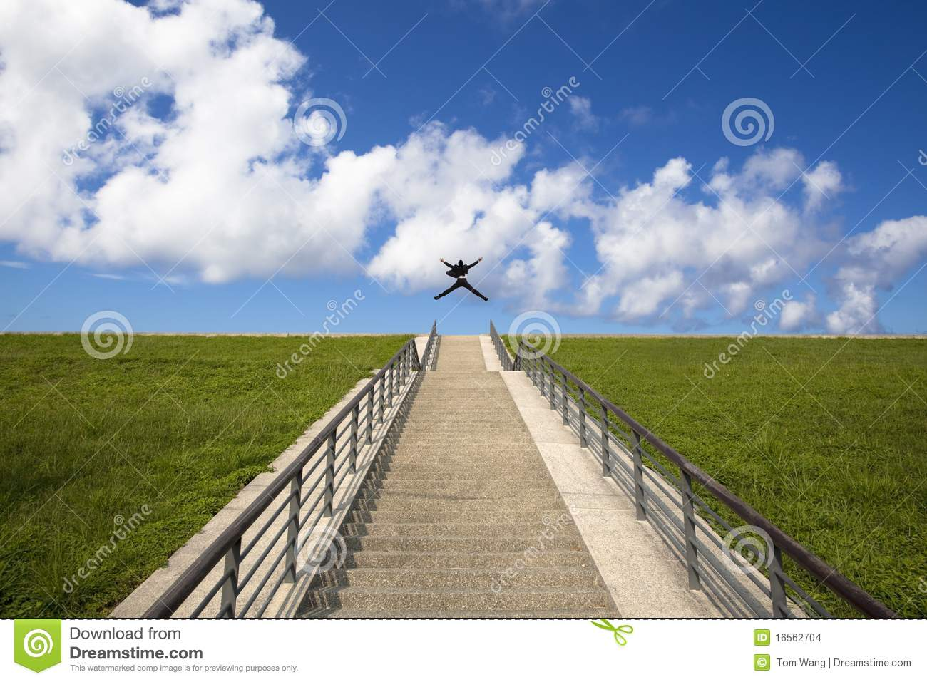 The stairs to the success