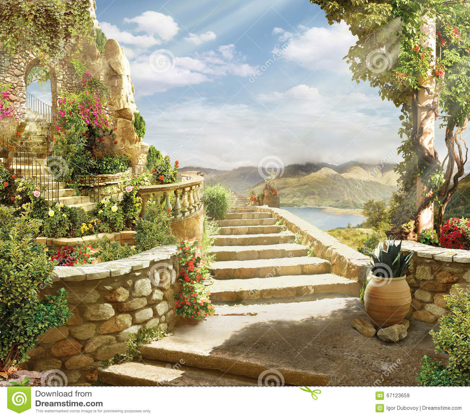 Stairway рая к