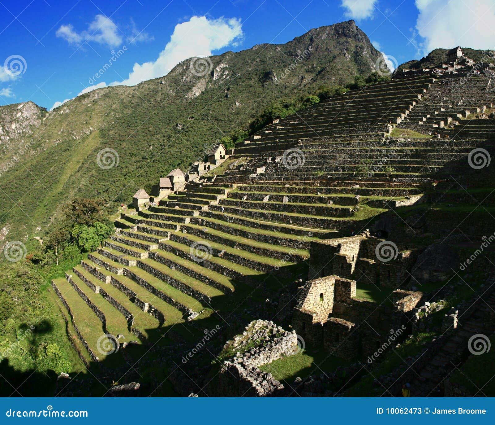 Stairway de Macchu Picchu