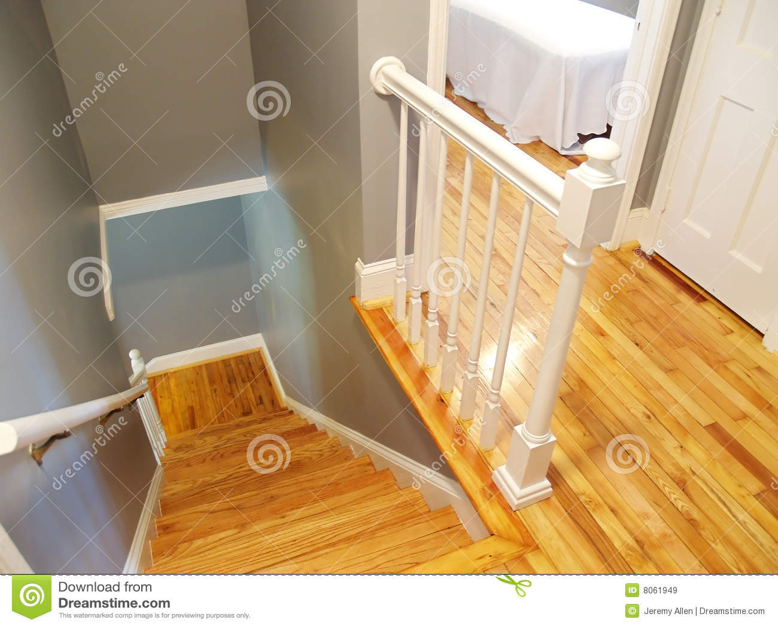 Stairway de madeira
