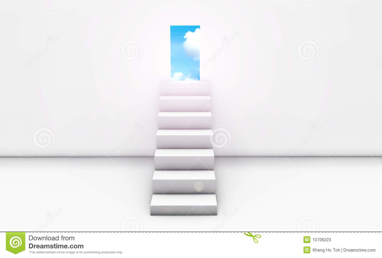 Stairway To Heaven Stock Photos - Image: 10706223