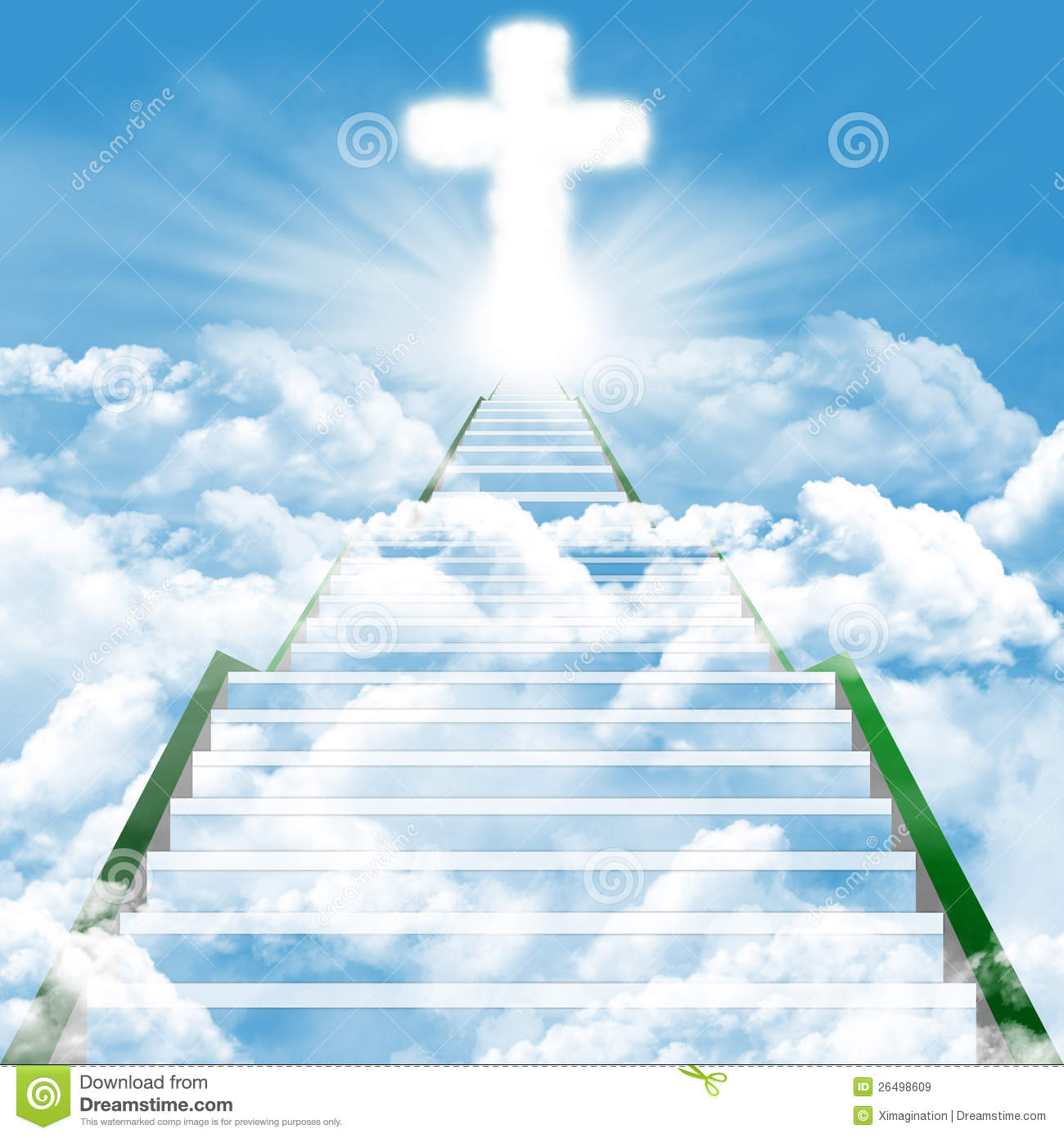 Stairway To Heaven Royalty Free Stock Images - Image: 26498609