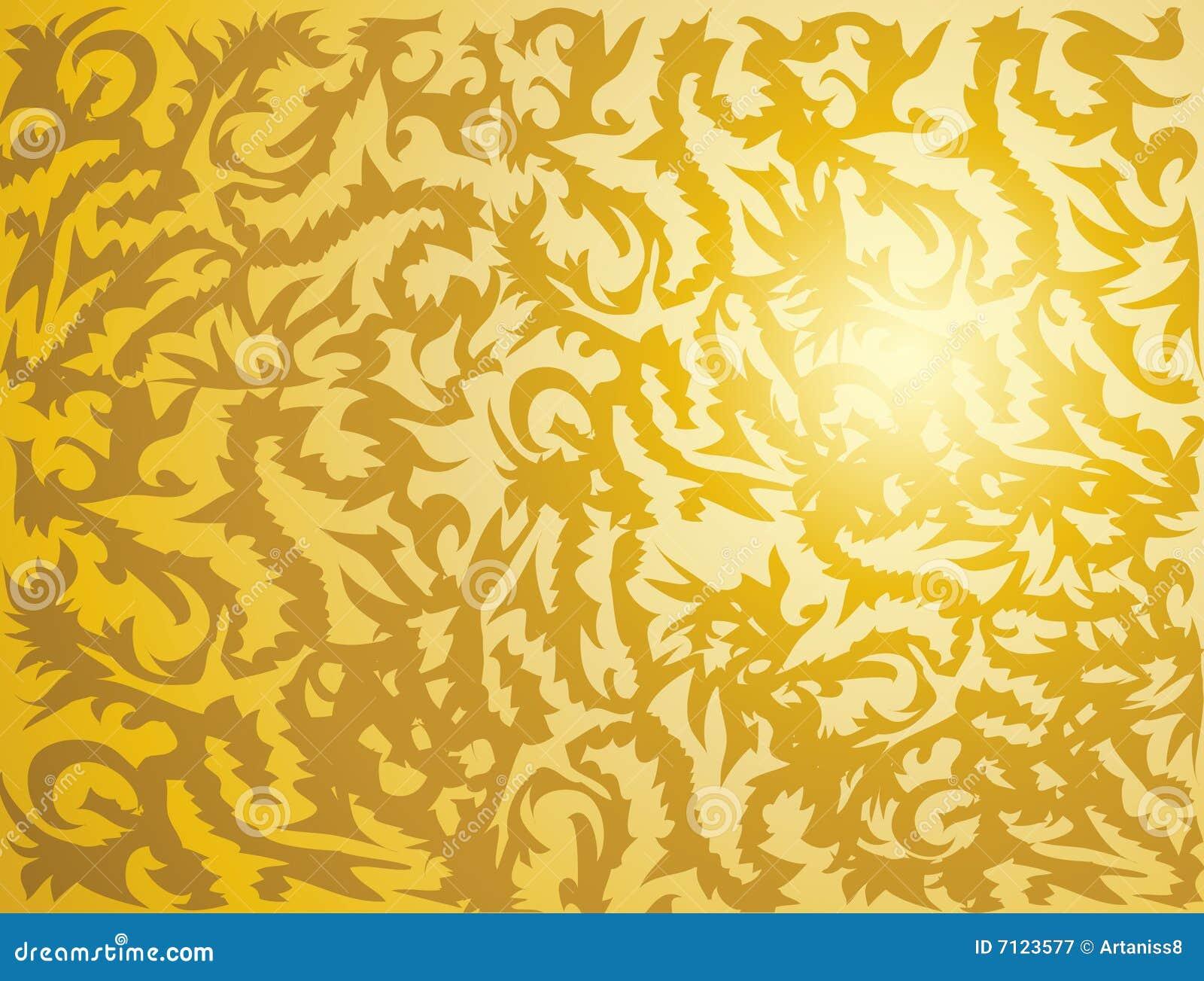Stam- guld- textur