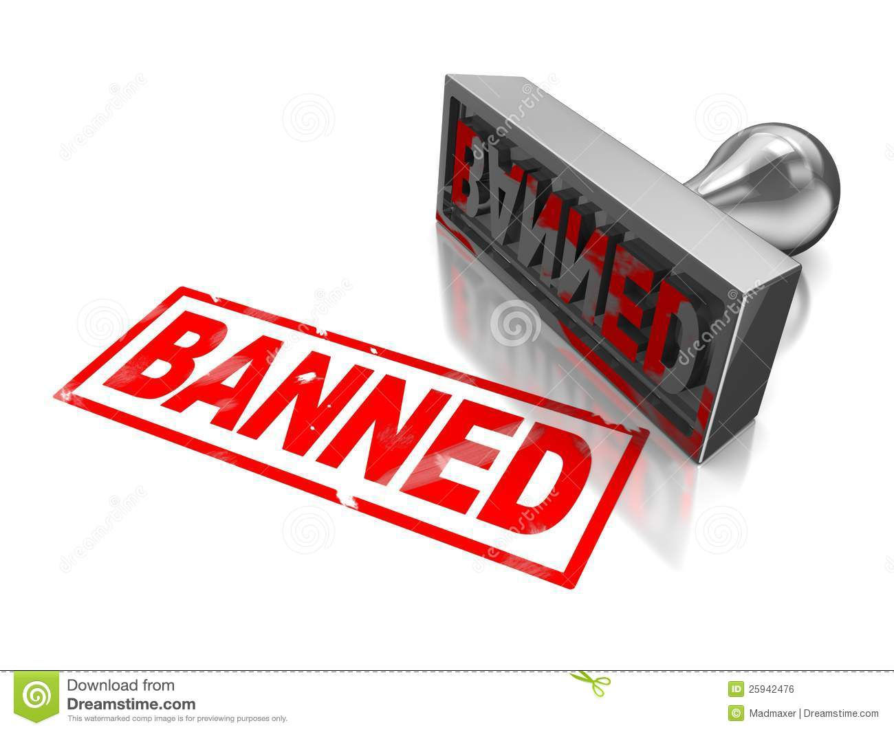 banned stamp stock photos - photo #2