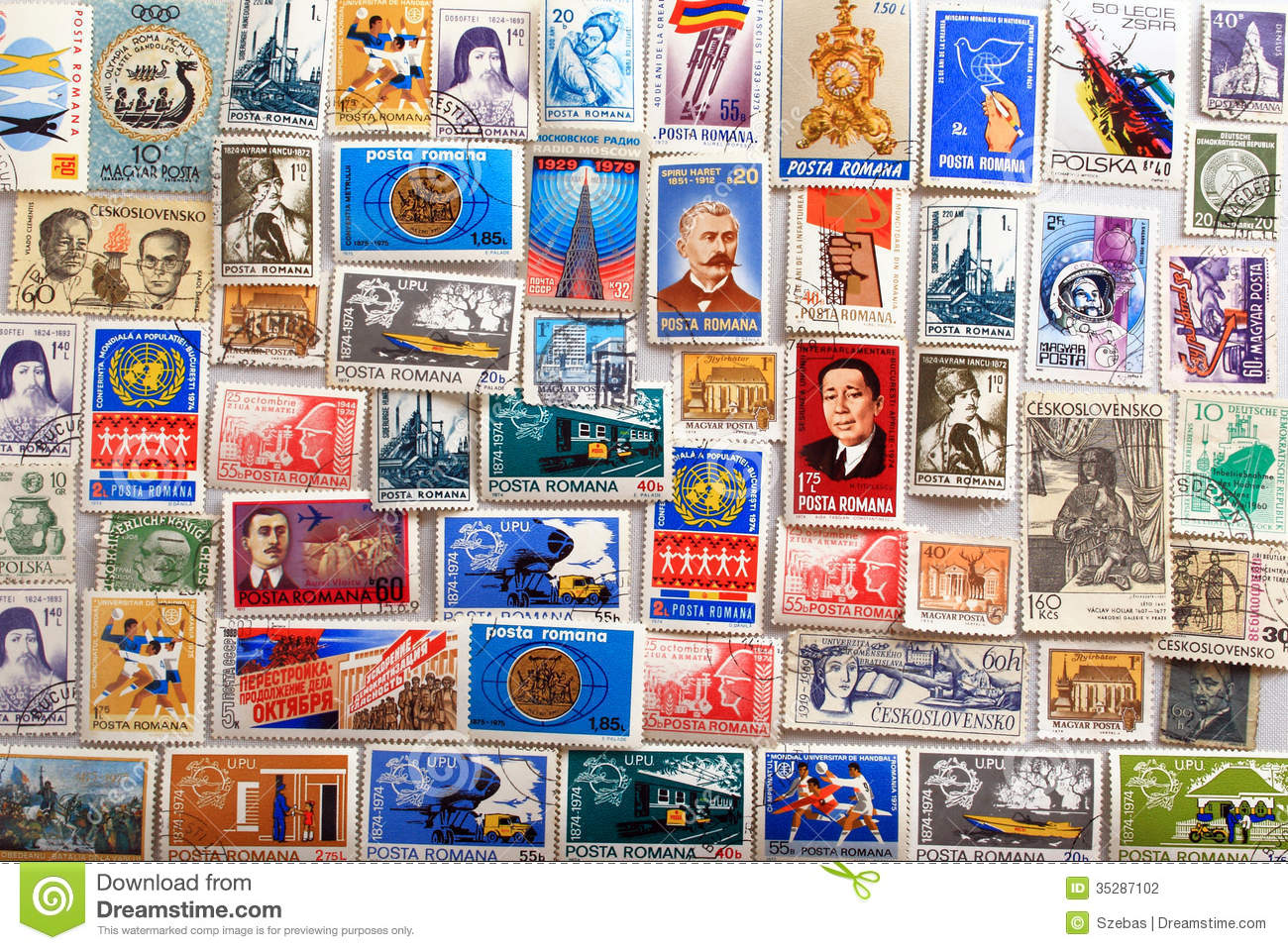 Stamp Collection Background Stock Photography - Image ... Relaxing Sounds