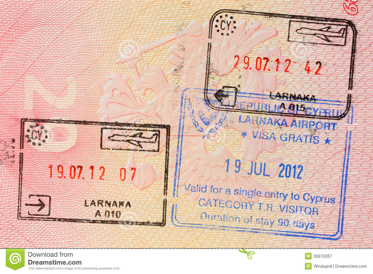 how to get visa seal on a passport