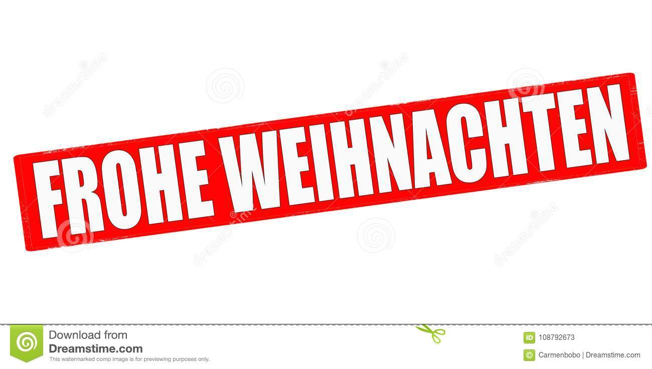 How Do You Say Merry Christmas In German.Merry Christmas Stock Illustration Illustration Of Grunge