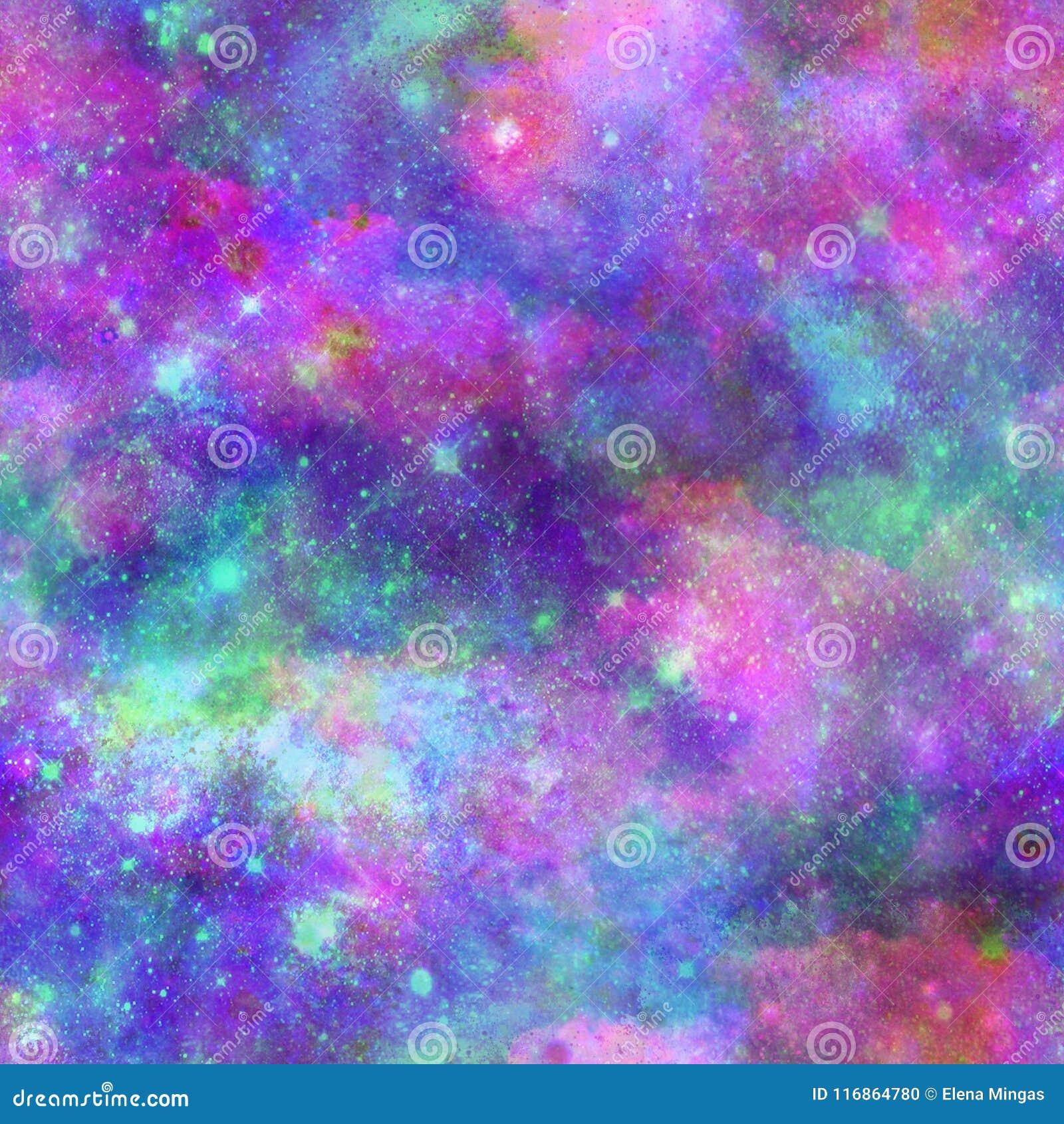 Stampa Delluniverso Della Galassia Di Esplosione Di Colore