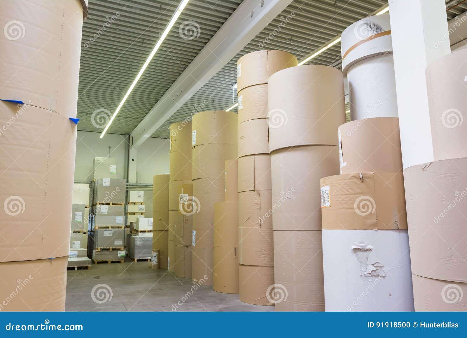 Stampatore di derivazione Ind della fabbrica massiccia dei cilindri di stoccaggio di Rolls della carta