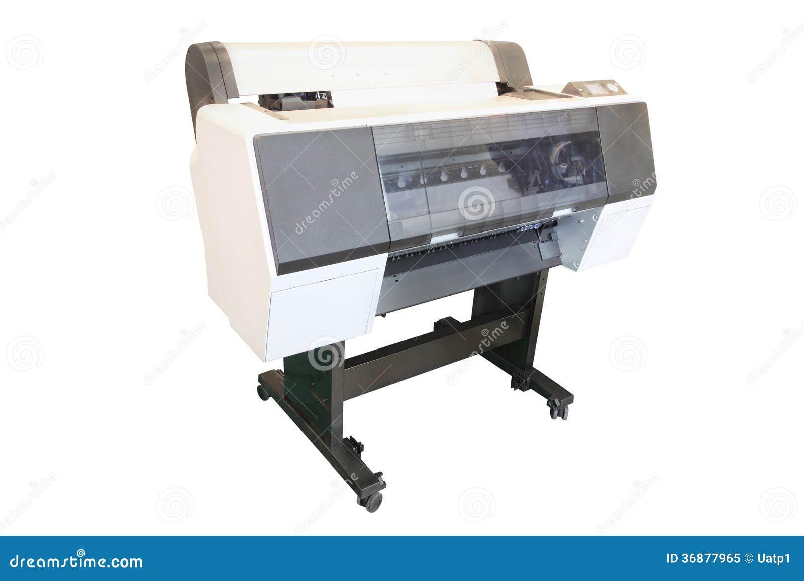 Download Stampatrice professionale immagine stock. Immagine di macchina - 36877965