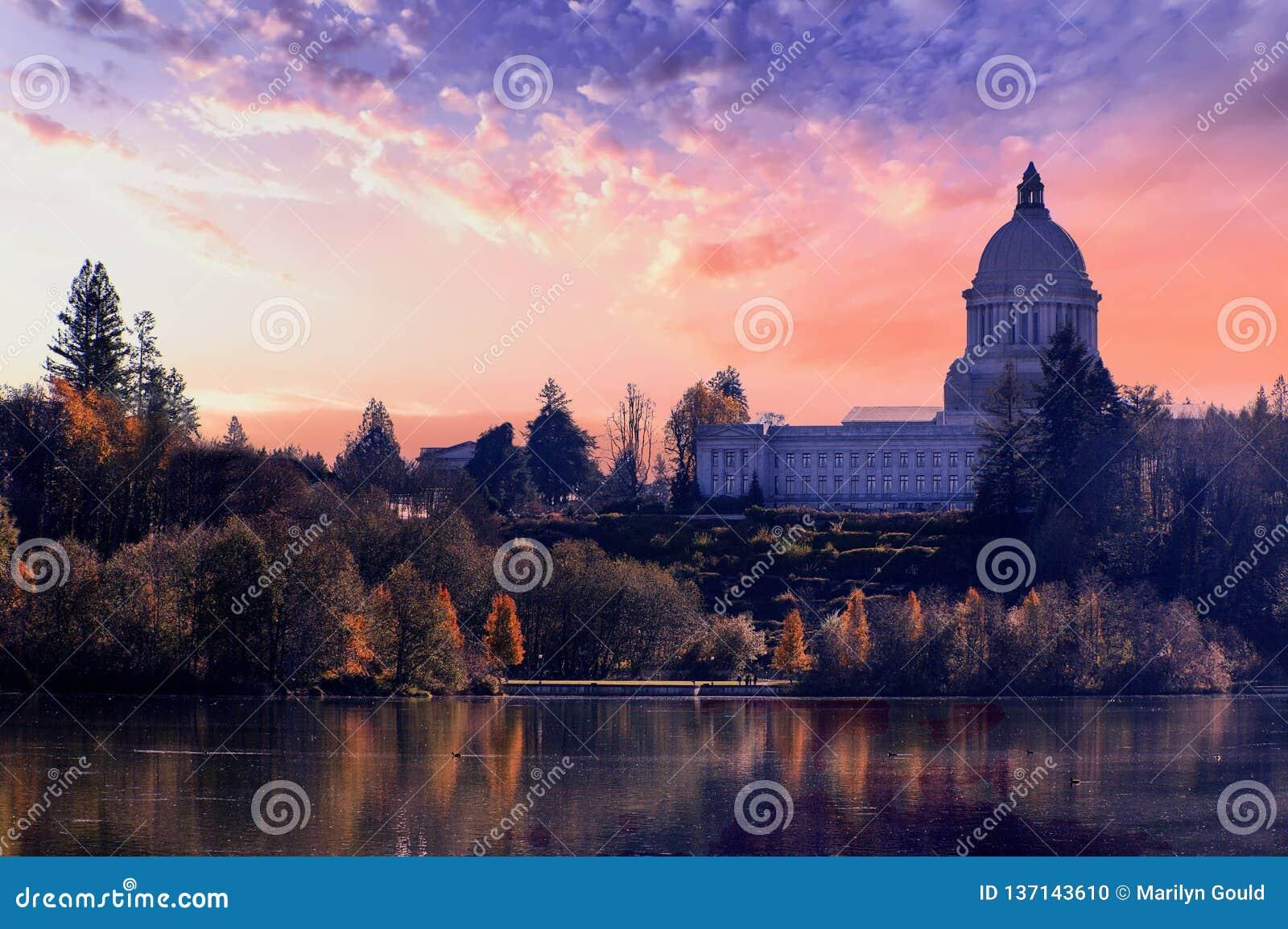 Stan Washington kapitału budynku olimpia Waszyngton