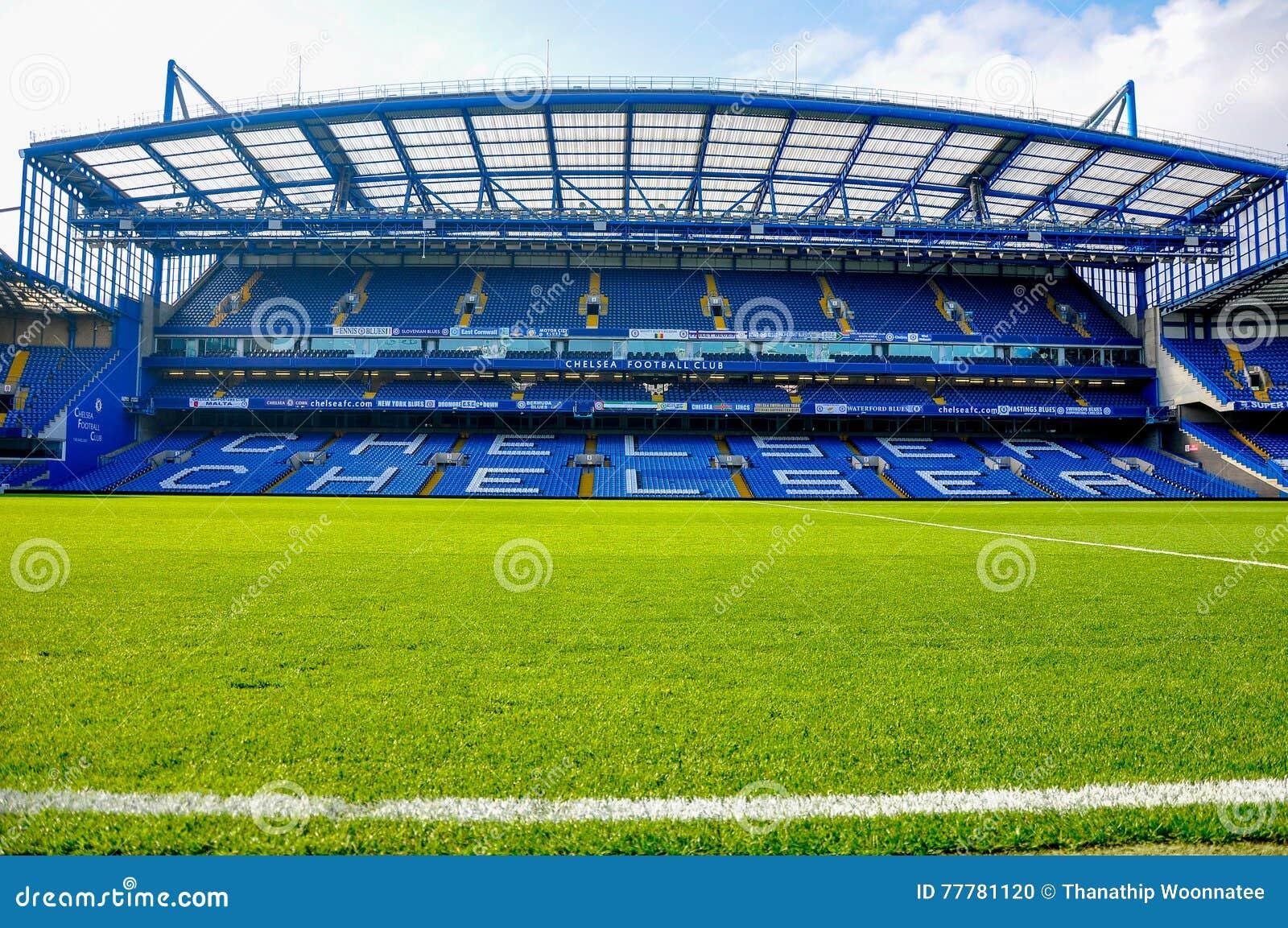Stand of Stamford Bridge, home ground of Chelsea F.C.