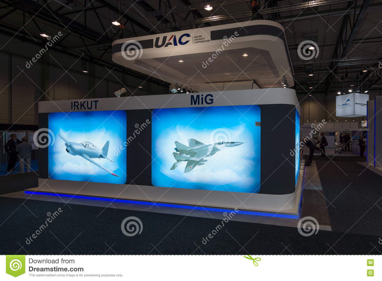 The Stand Of United Aircraft Corporation (Russia) Editorial