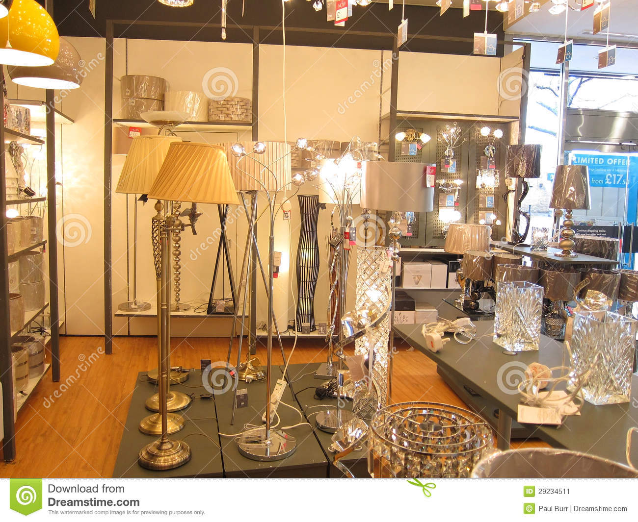 British Home Stores Lighting