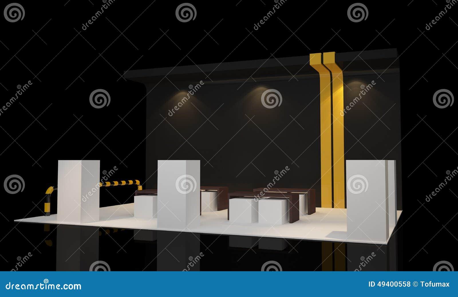 Download Standausstellung stock abbildung. Illustration von marketing - 49400558
