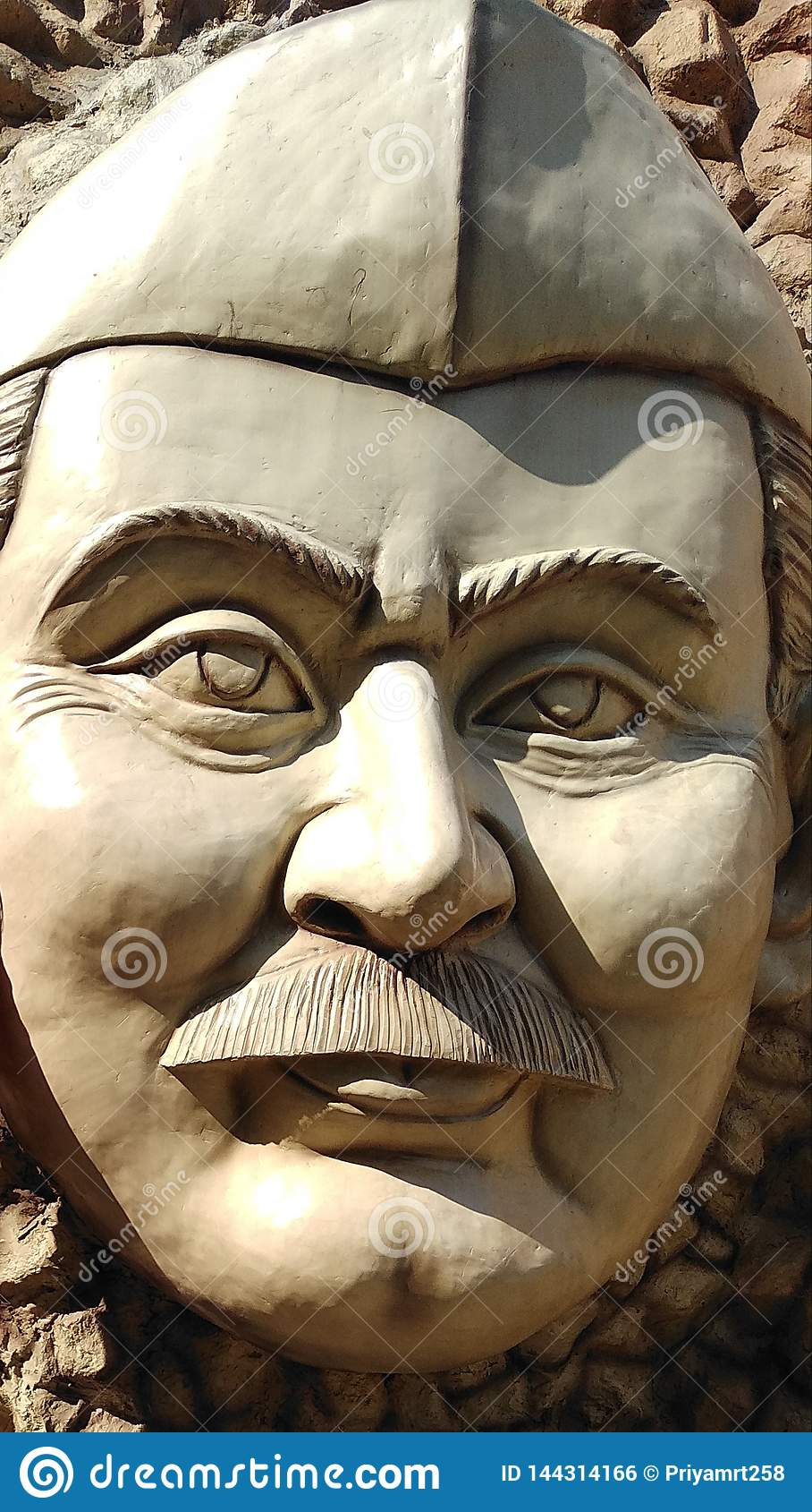Standbeeld van Chaudhary Charan Singh