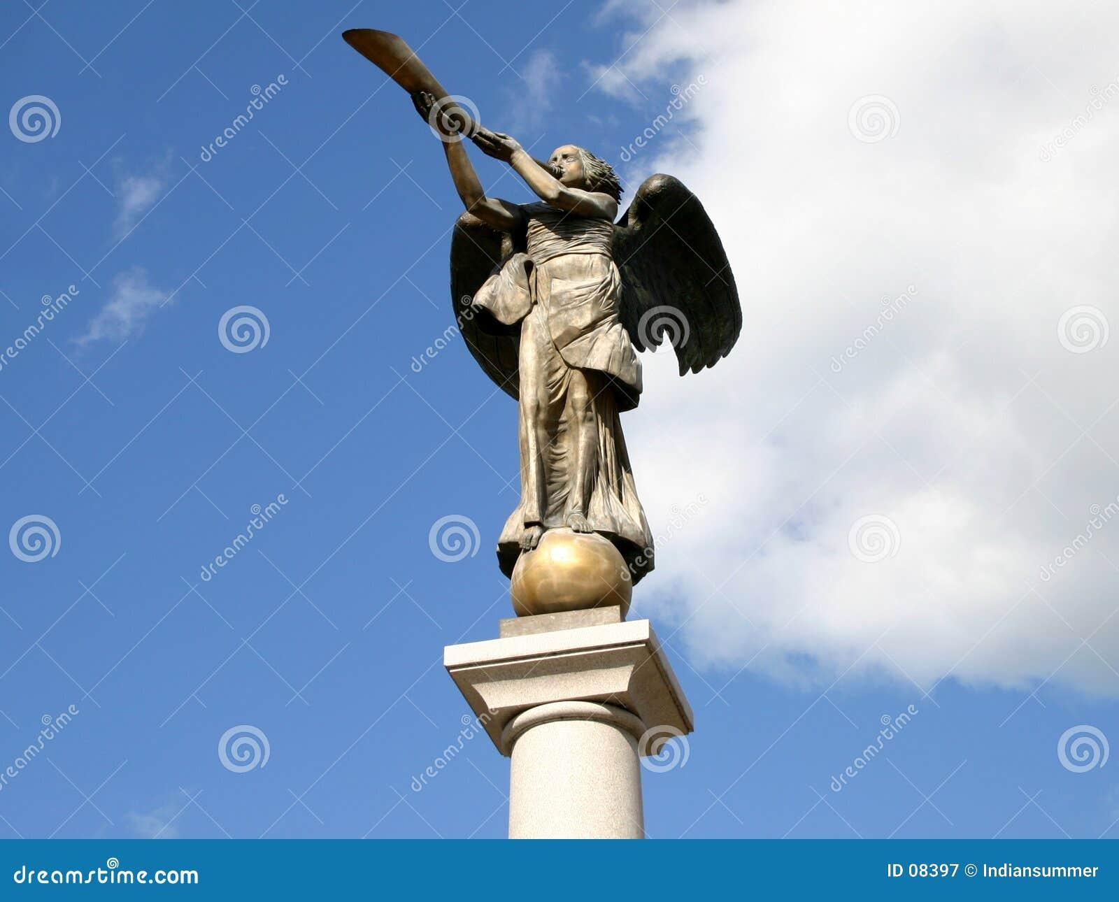 Standbeeld van de engel