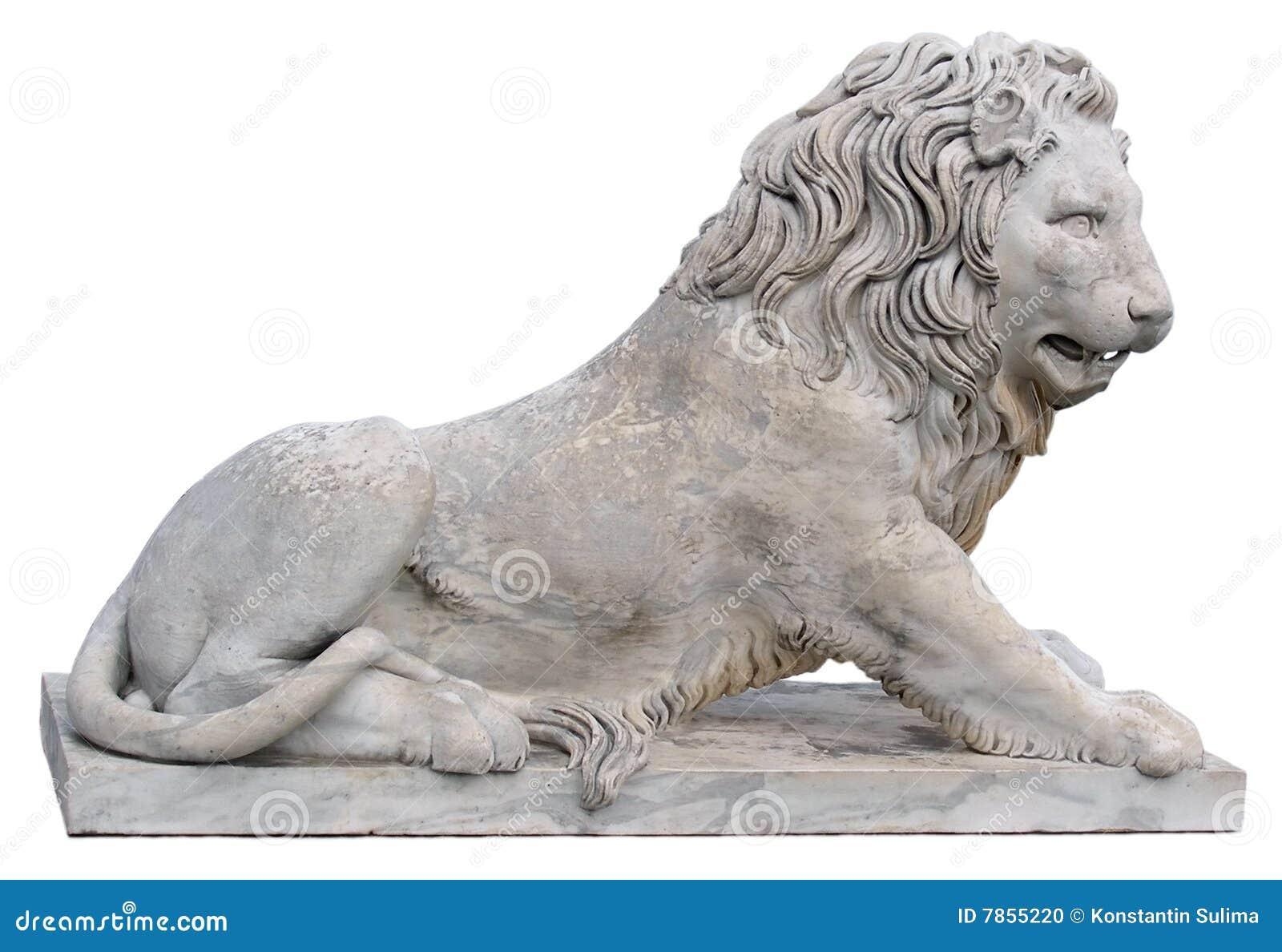 Standbeeld van een leeuw in de Krim