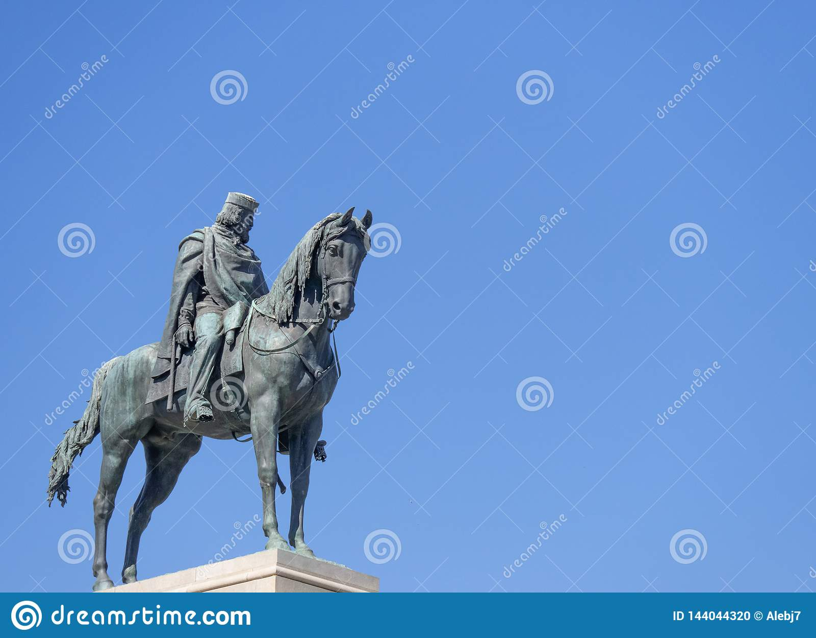 Standbeeld van Giuseppe Garibaldi