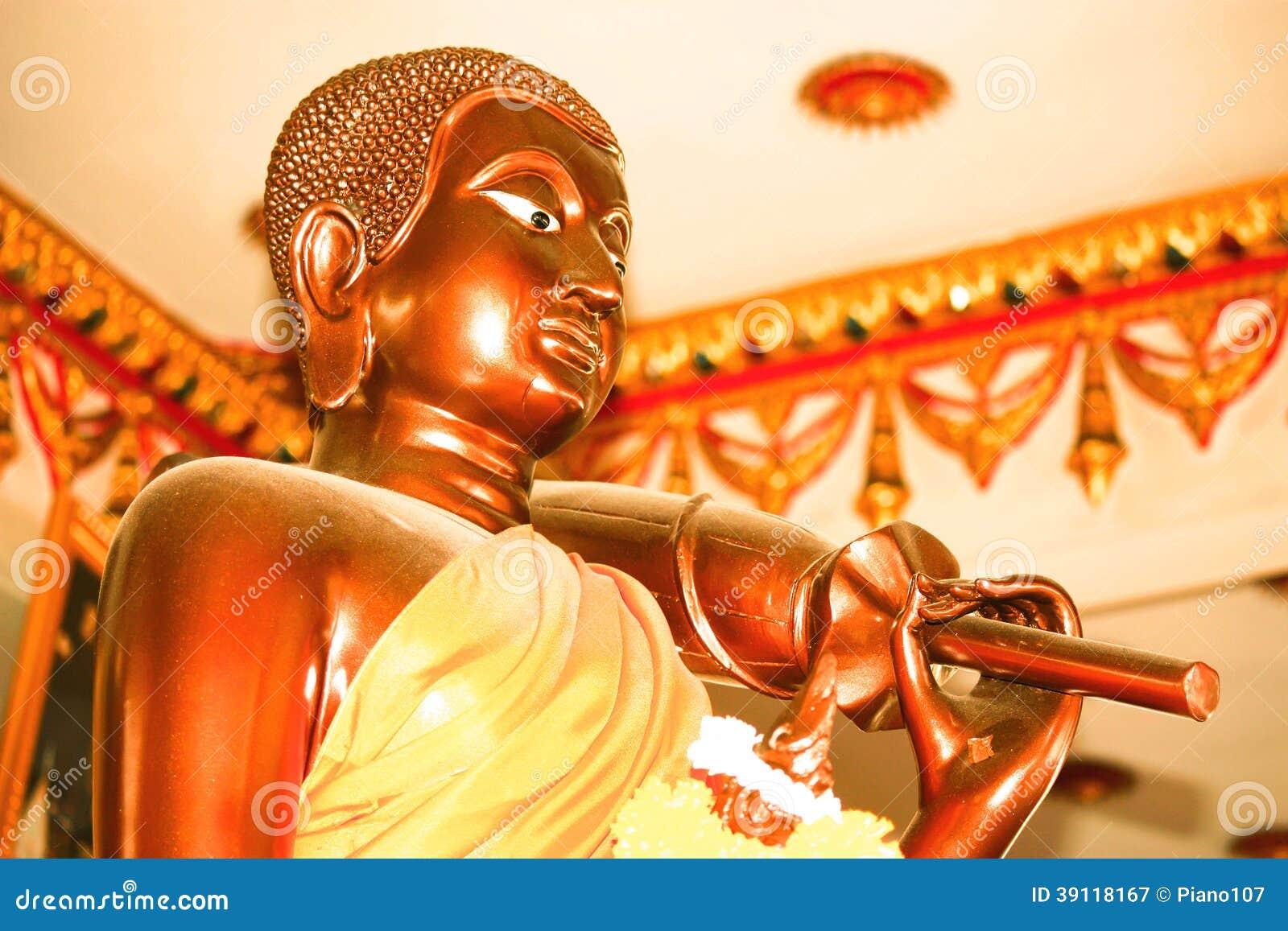 Standbeeld van monnik
