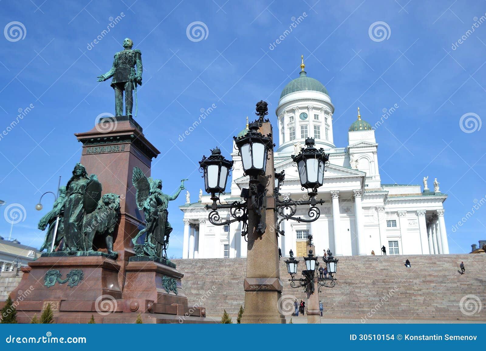 Standbeeld van Russische tsaar Alexander II, Helsinki