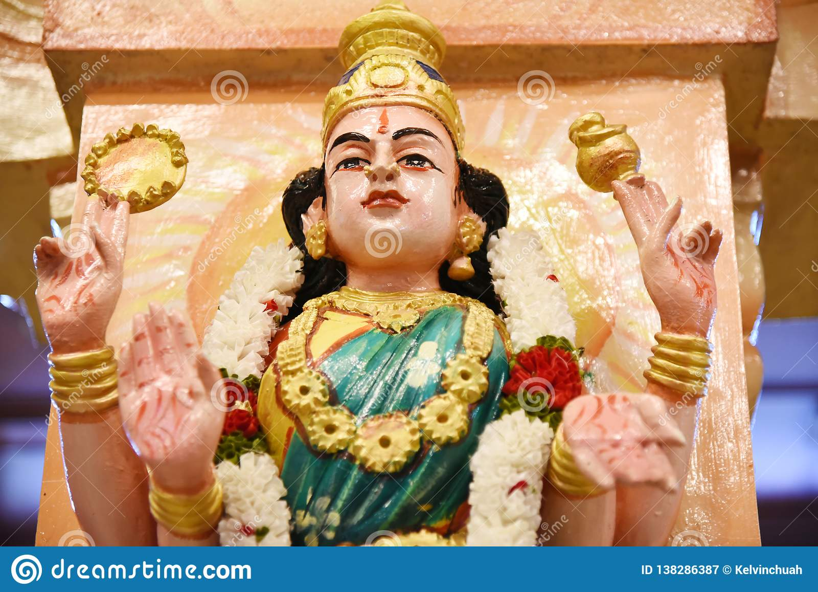 Standbeelden van Hindoese goden