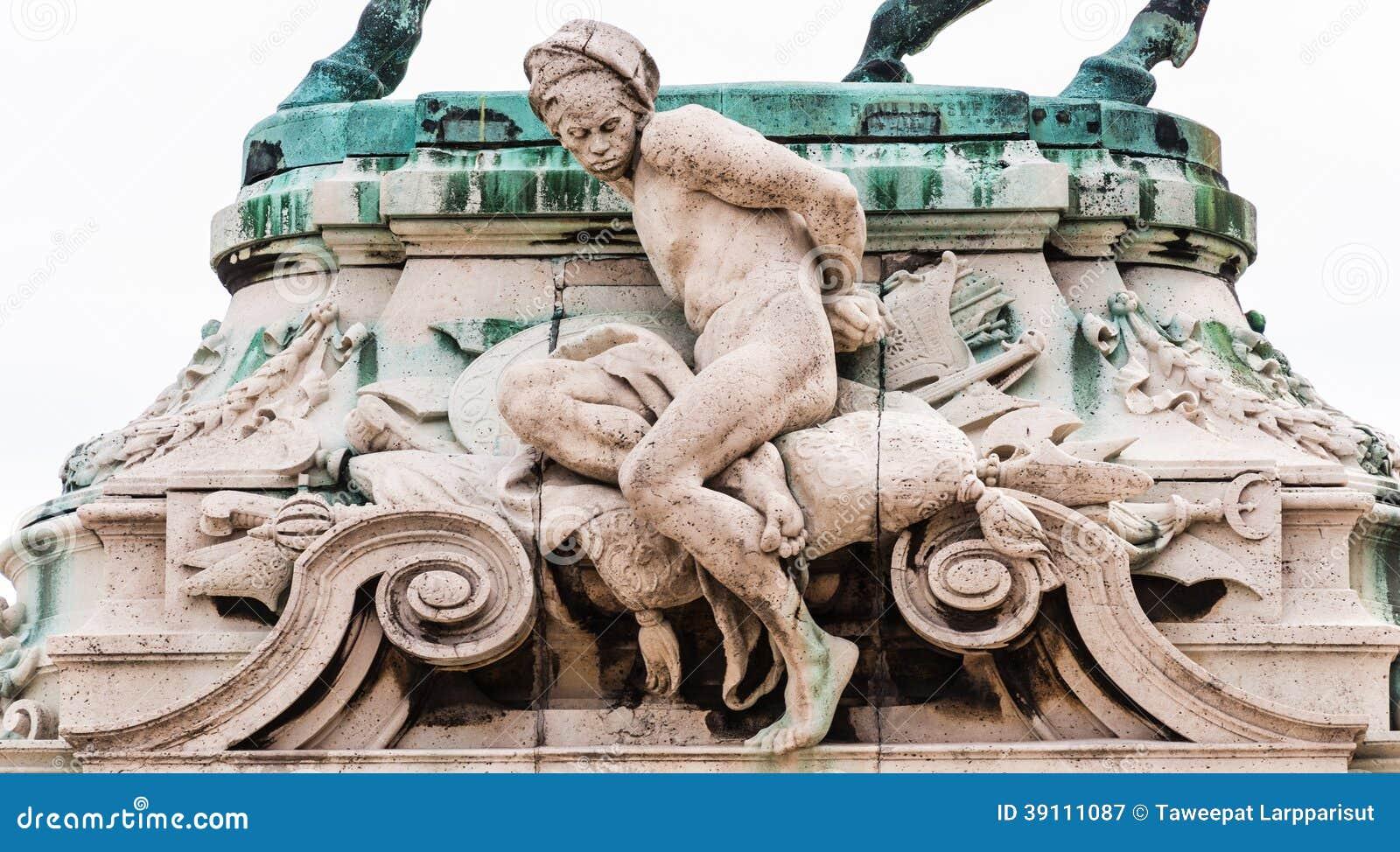 Standbeeldprins Eugene van Savoye Buda Castle