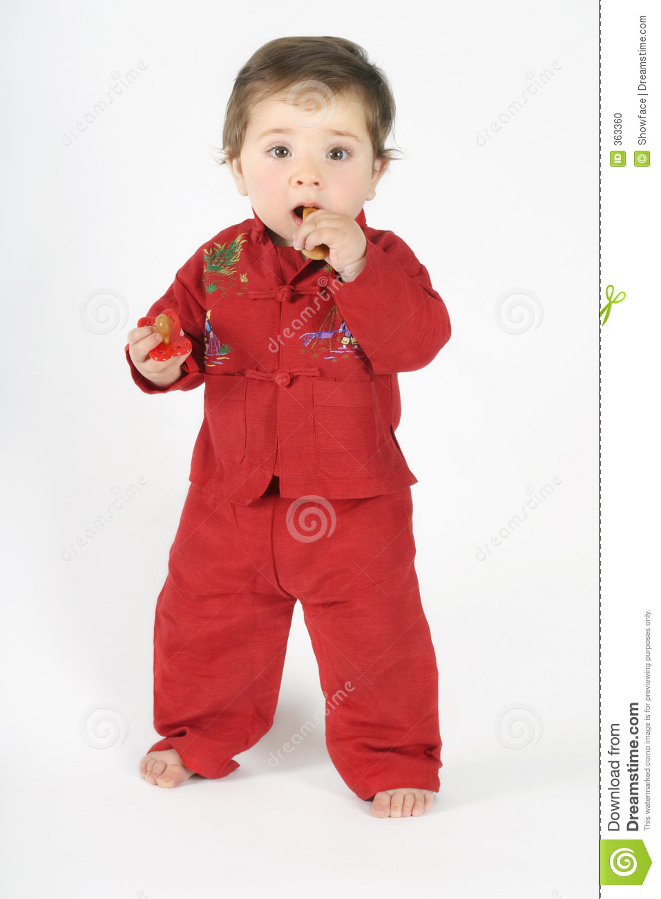 Standing baby eating rusk stock photo. Image of bisucuits ...