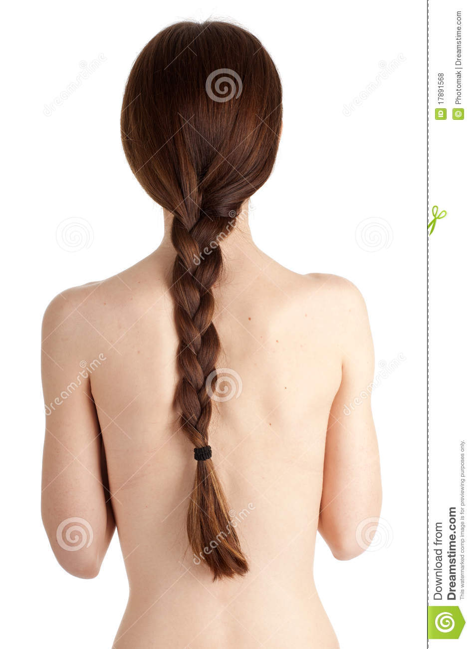 Very And Beautiful Naked Woman Stock Image - Image of face