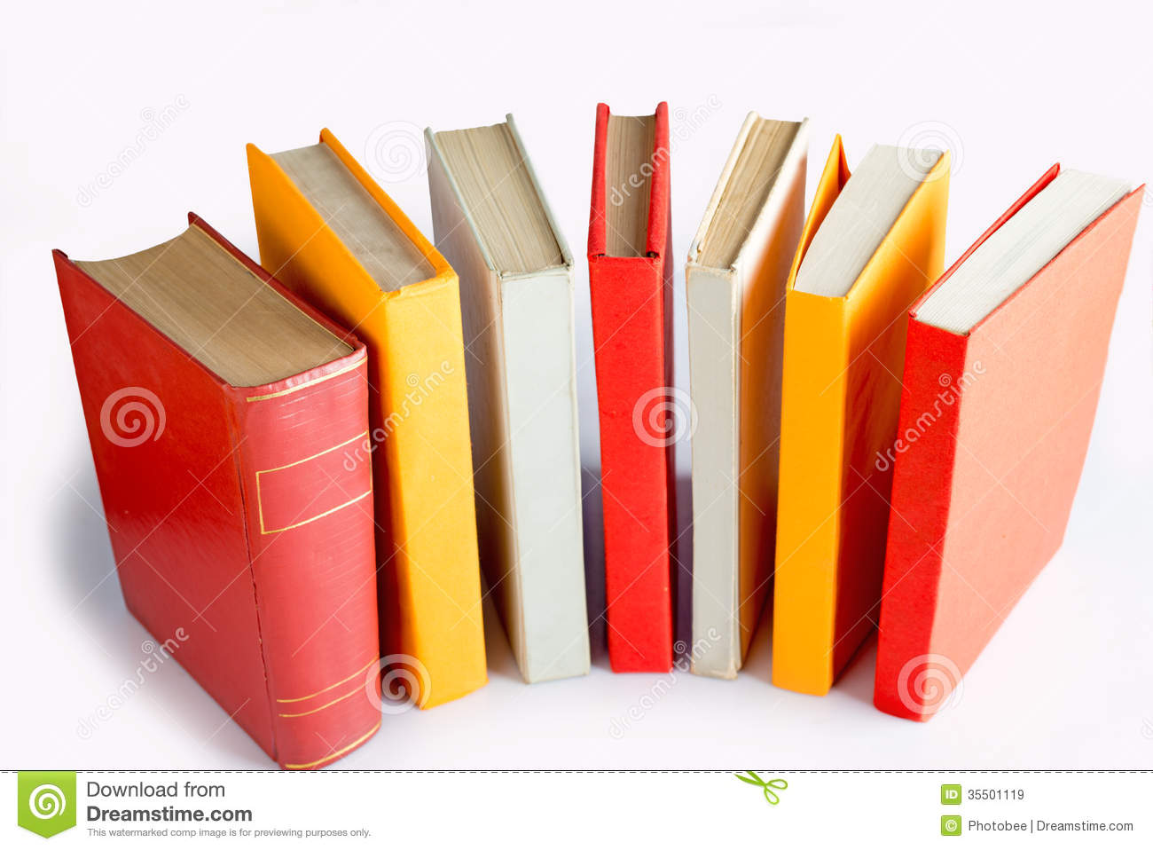 Standing Book Queue Royalty Free Stock Images - Image ...