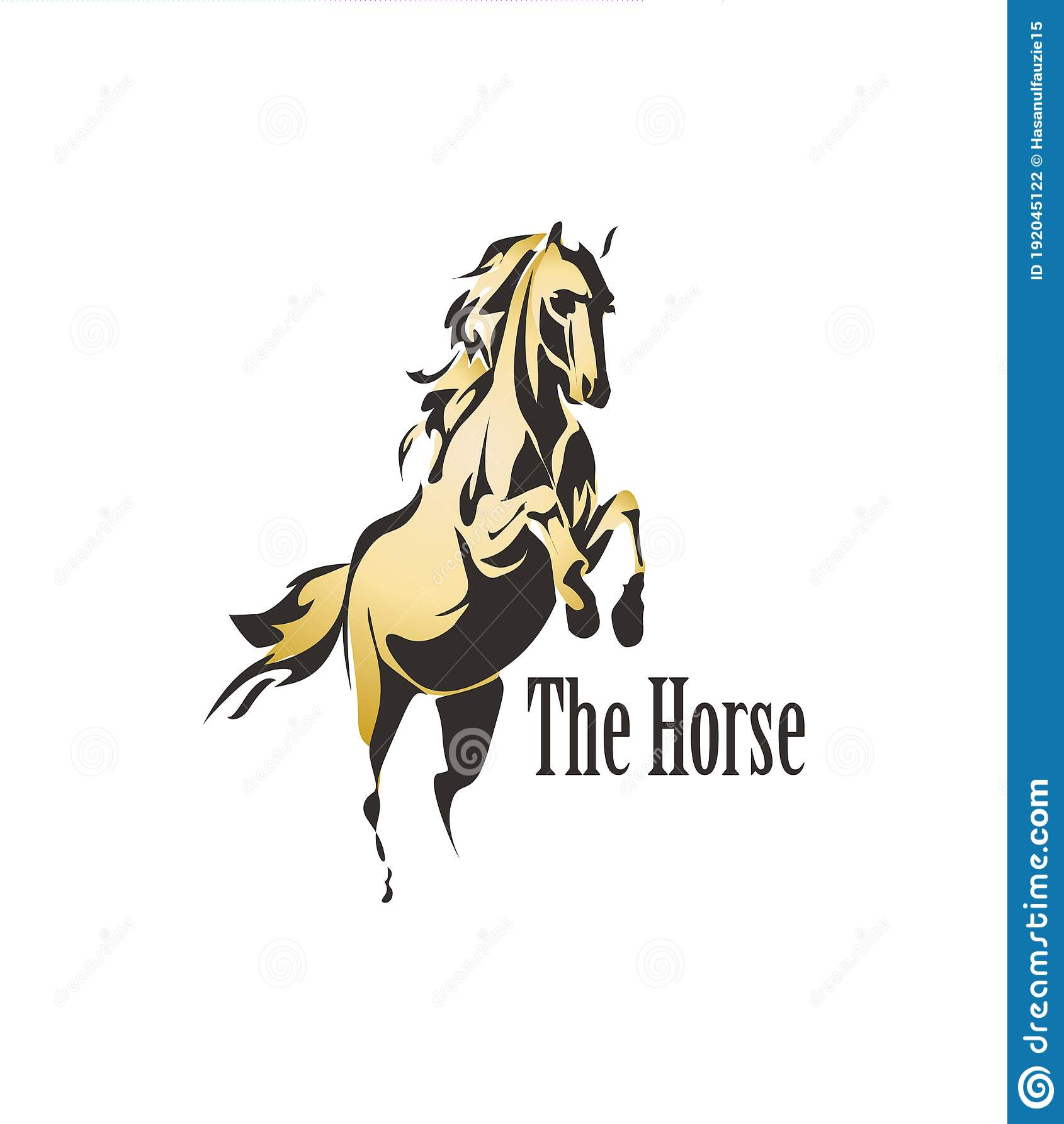 Gold Horse Logo Stock Illustrations 969 Gold Horse Logo Stock Illustrations Vectors Clipart Dreamstime