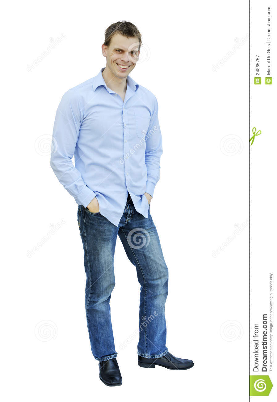 Standing man royalty free stock photography image 24865757 for Homme debout meuble