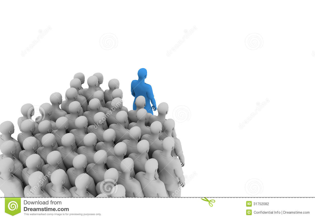 Leading And Following Stock Photography Image 31752082