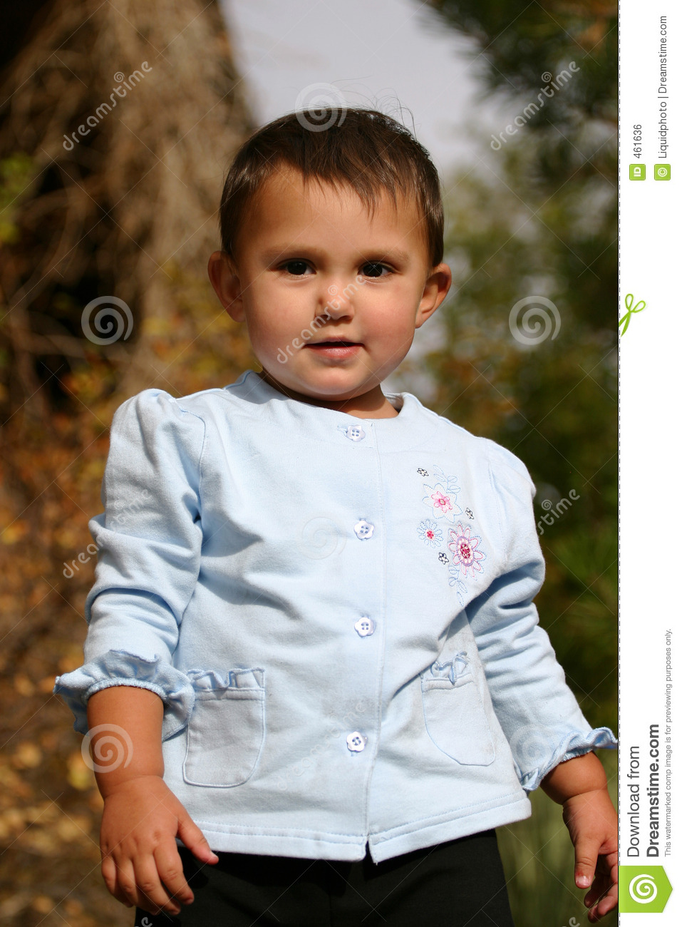 Download Standing Tall stock photo. Image of expression, baby, latina - 461636