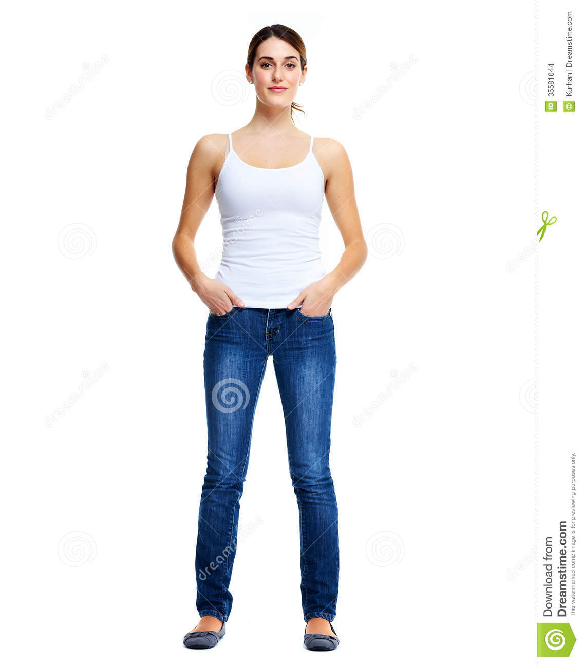 standing woman stock photo image of student lifestyle 35581044