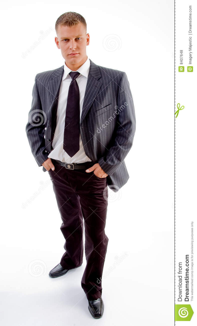 full length portrait of a handsome young man standing mr