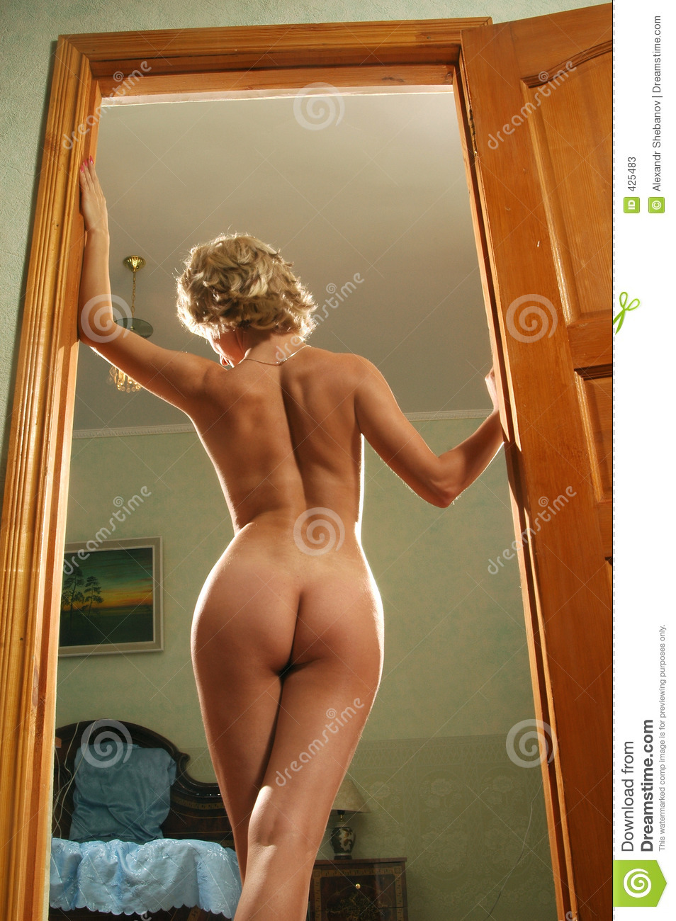 Nude standing door, pic porno indonesia