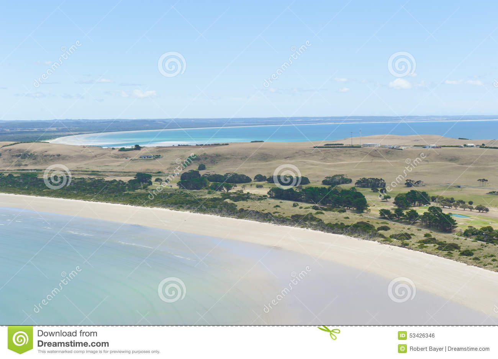 Stanley Australia  city pictures gallery : Stanely Tasmania Australia Peninsula Beaches Stock Photo Image ...