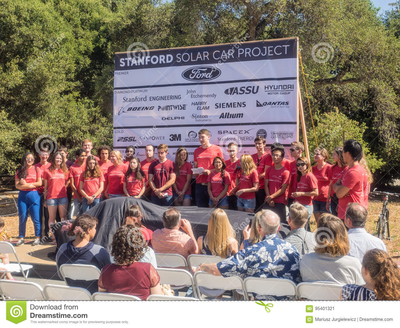 Stanford Solar Car Project Editorial Photo Image Of Conservation Power Ca Usa July 1 2017 The Unveiling Newest Powered Sundae Will Race Across Australian