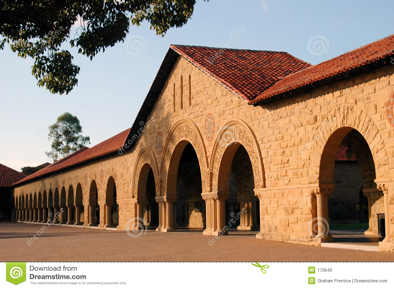 Stanford University Building