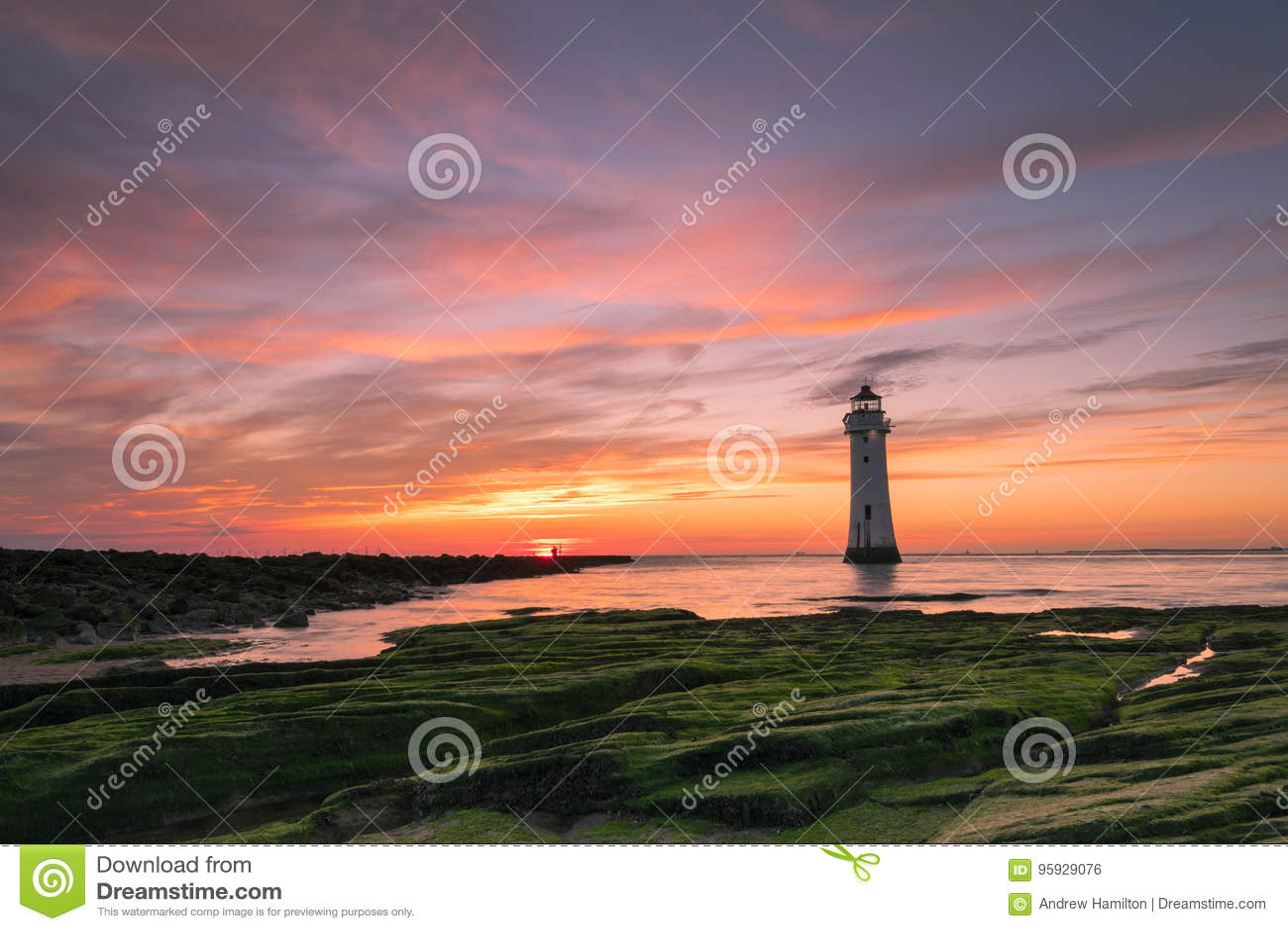 Stangen-Felsen-Leuchtturm neues Brighton