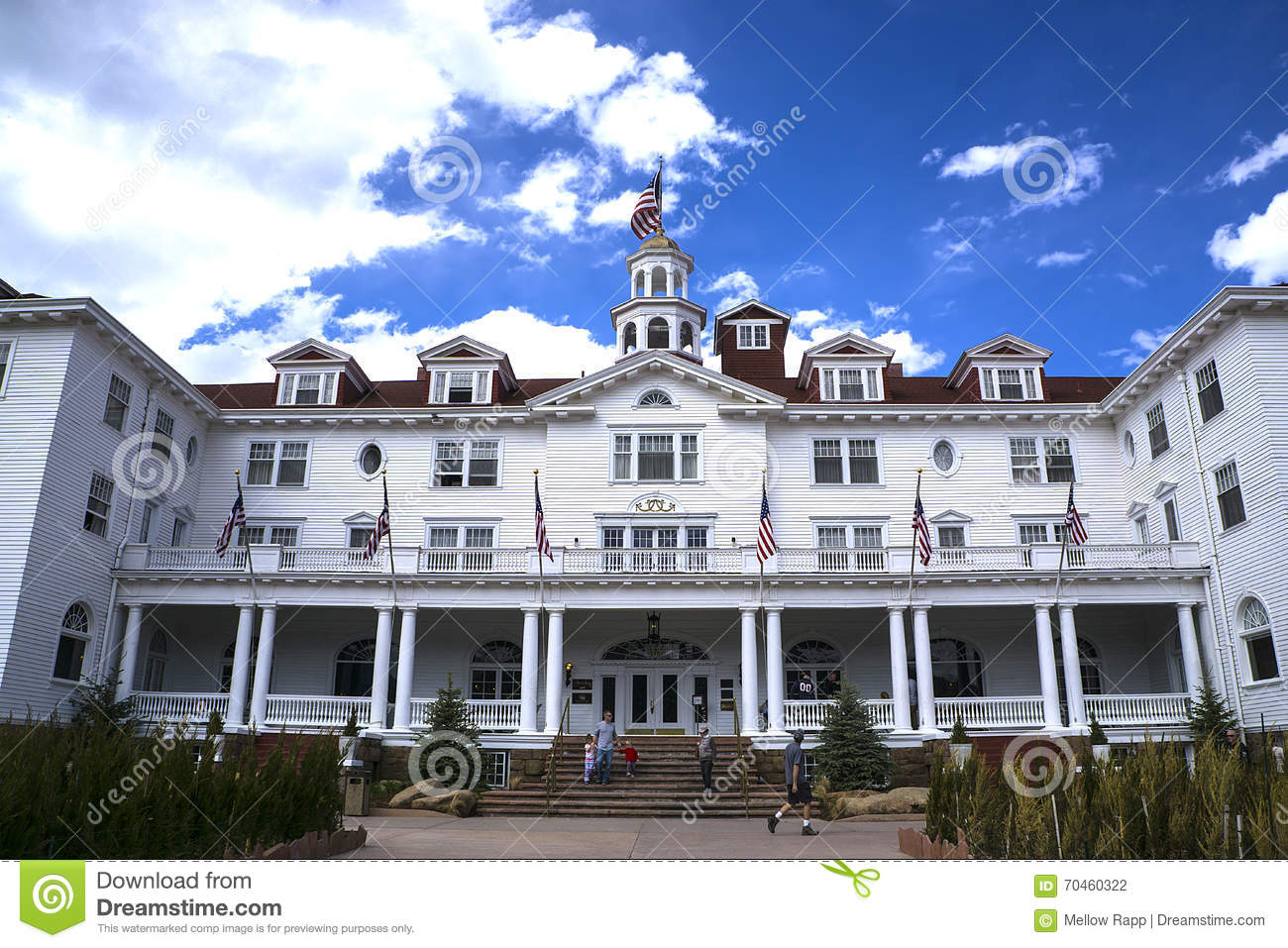 Stanley hotel editorial photography image of architecture 70460322 for Stanley home design software free download