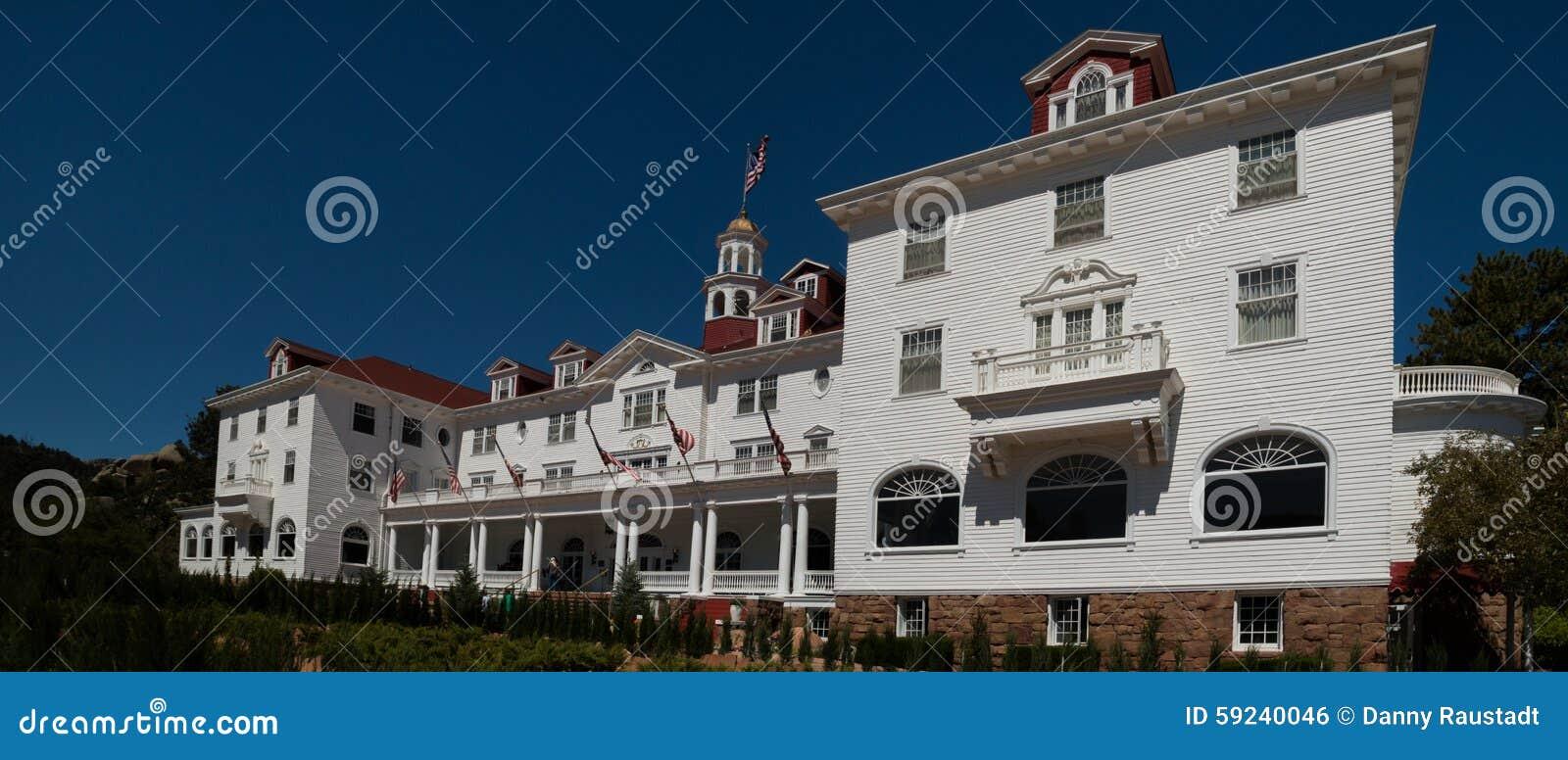 Stanley Hotel famoso en Estes Park, Colorado